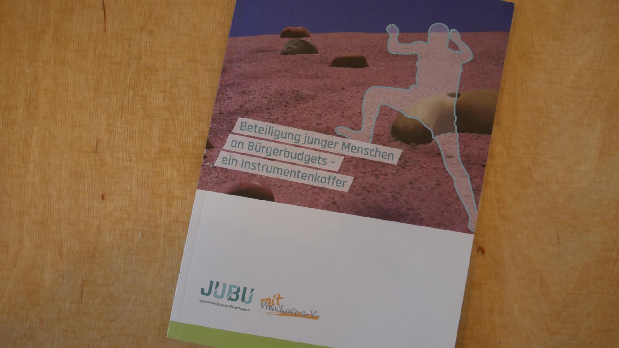 """Printversion des Buches """"Beteiligung junger Menschen an Bürgerbudgets - ein Instrumentenkoffer"""" der JUBU-Reihe Band 1."""